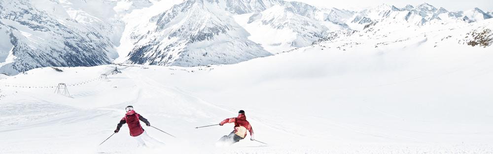 Skigebiet hintertuxer gletschers hintertuxer gletscher