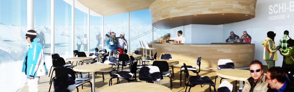 Cafe auf dem pitztaler gletscher tirolgletscher com