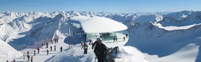 Aussicht pitztaler gletscherbahn tirolgletscher com