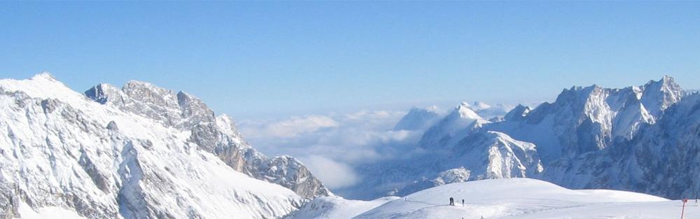 Zugspitze Panorama Zugspitze Gletscher - ...